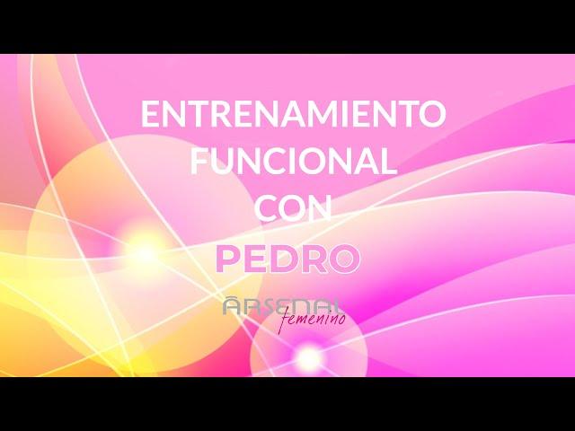 Entrenamiento funcional con Pedro