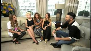 Cheryl & The X Factor Girls - This Morning - 9th October 2014