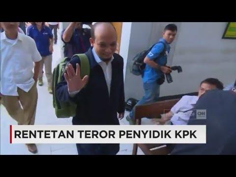 Rentetan Teror Kepada Penyidik KPK