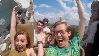 YouTubers at Disney & Dovan Reunited! | Evan Edinger Travel