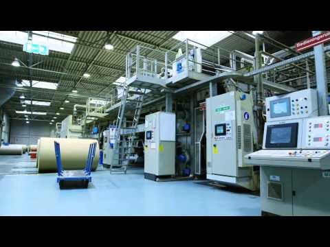 Agnati 2500mm Double wall corrugator - YouTube