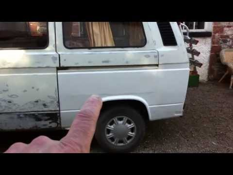 VW T25 Chassis & Body Repair + Body Preparation & Painting - Part 25