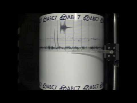 Machine At ABC7.com In Los Angeles Southern California Seismograph