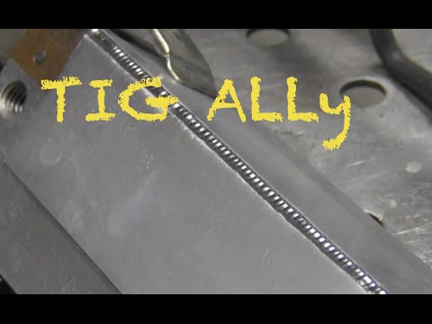 Tig Welding Thin Aluminum Youtube