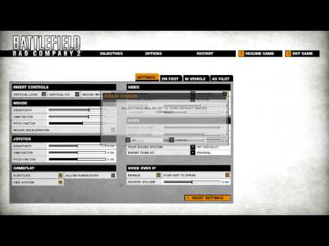 Battlefield bad company 2 mouse problem