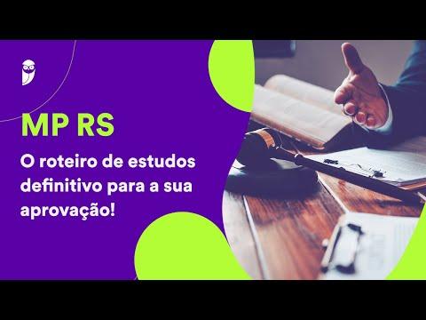MP RS - O roteiro de estudos definitivo para a sua aprovação!