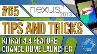 Nexus 7 2013 Tips and Tricks #65: Quick-Change Home Launcher