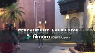 an afternoon in Morocco  Epcot Orlando عشية في