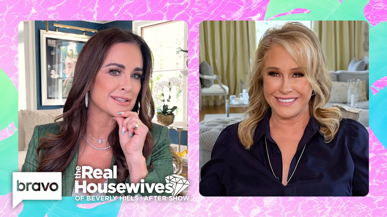 Kyle Richards Reveals the Best Prank Kathy Hilton Ever Pulled Off | RHOBH After Show S11 E21