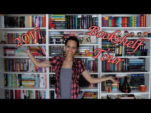 2017 Bookshelf Tour | 700 Books