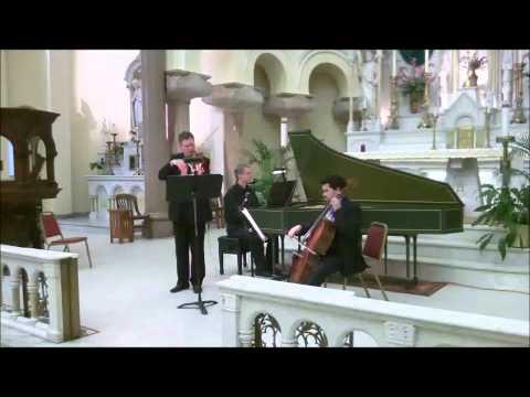 Florida Pro Musica Chamber Ensemble: Handel Violin Sonata In D Mvts 3 & 4