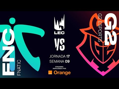 FNATIC VS G2 ESPORTS | LEC | Spring Split [2019] League of Legends thumbnail