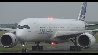 *Rare* First Ever A350 Landing in Scotland at Prestwick Airport