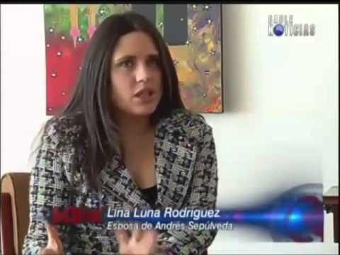 Habla Lina Luna, esposa del hacker Andrés Sepúlveda