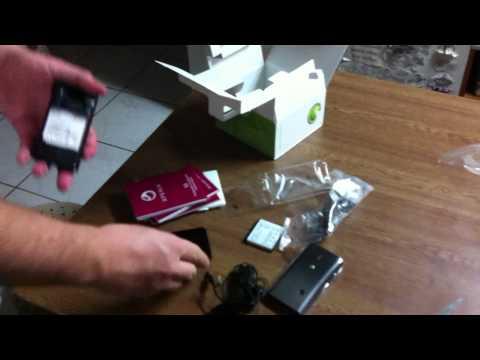 Sony Ericsson Xperia x8 Unboxing Greece