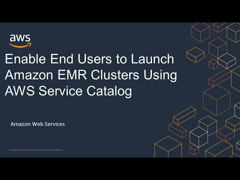 Enable End Users to Launch Amazon EMR Clusters Using AWS Service Catalog
