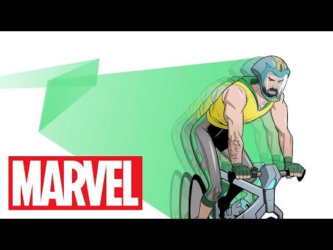 Give Bike Man a Chance!   Marvel Make Me a Hero