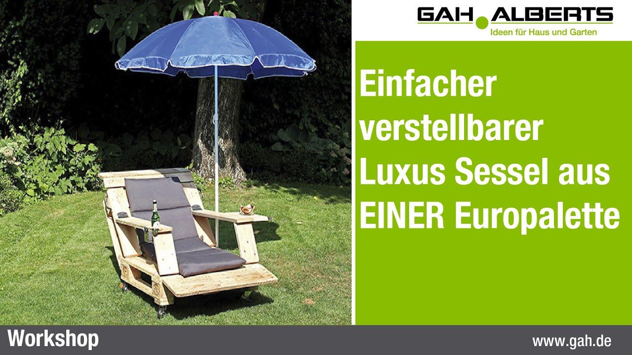 Sessel aus europaletten bauen ostseesuche com - Terrassenmobel aus europaletten ...