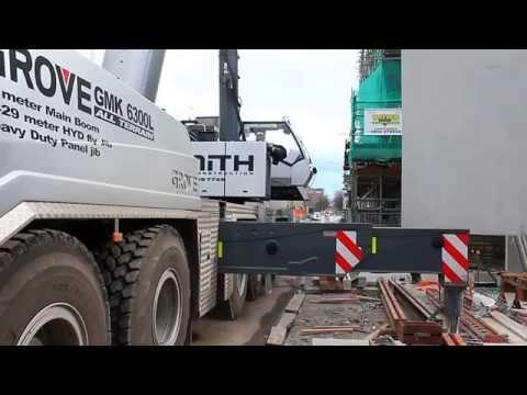 Precision Crane Operation - Grove GMK 6300L
