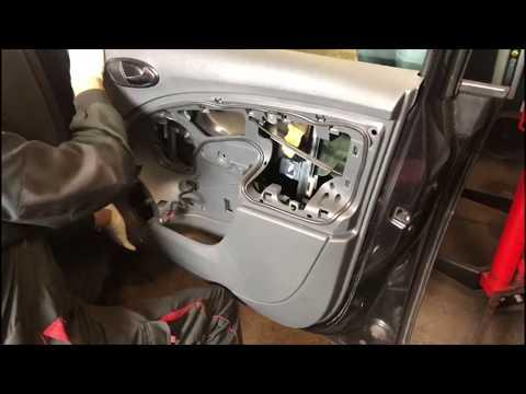 Replacing Driver Side Front Window Regulator, Winder Window Lifter On Seat Altea