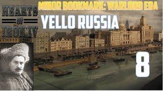 Hearts of iron 4 Minor Bookmark: Warlord Era Żółta Rosja #8