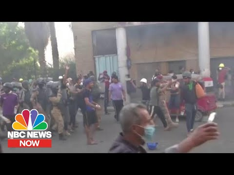 Deadly Demonstrations In Iraq Continue As Protesters Demand Political Change | NBC News Now