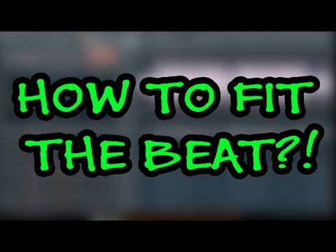 How To Fit ( Mix ) A Beat You Blatantly Ripped From YouTube With Your Vocals