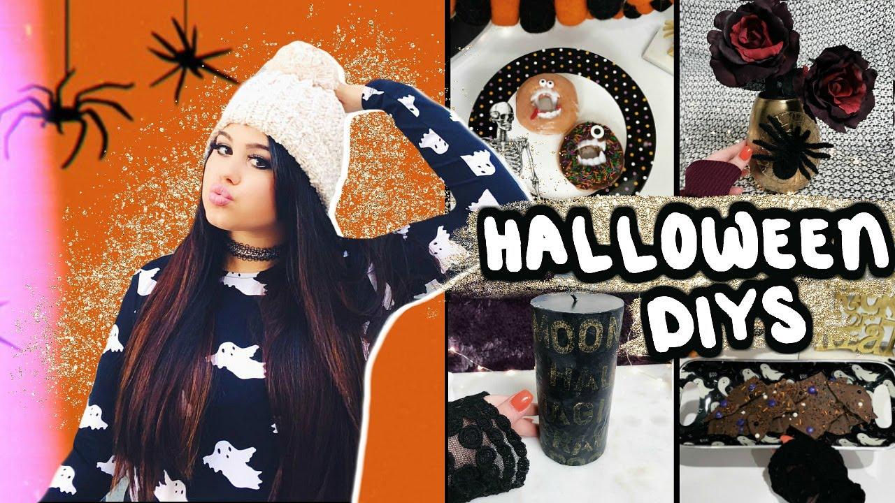 FUN 5-Minute DIYs for Halloween 2019!! Last Minute Spooky DIY Project Ideas!