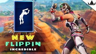 'NEW' Flippin' Incroyable Emote Battle Pass Grind - France Fortnite Bataille Royale