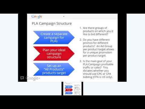 Google Shopping: Creating & Optimizing Your Product Listing Ads