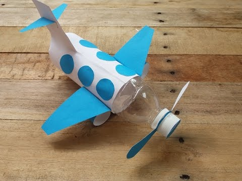 how-to-make-airplane-from-bottle-|cara-membuat-pesawat-terbang-dari-botol-bekas