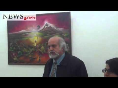 Exhibition of Australian painter Nagui Al Wasfi in Yerevan