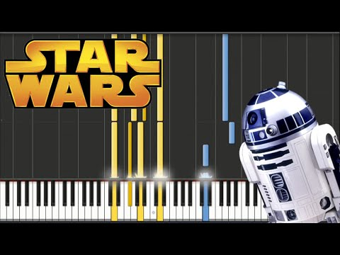 Star Wars  John Williams  Victory Celebration Theme  Piano Tutorial