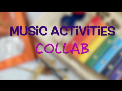 Simple Activities to Introduce Music to Kids COLLAB