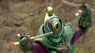 Power Rangers Jungle Fury - Pizza Slice of Life - Camille vs Naga (Episode 7)