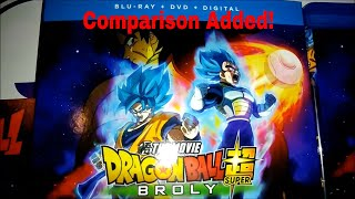 Dragon Ball Super Broly Bluray Unboxing New