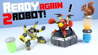 Ready 2 Robot Series 1 Build Swap Battle & Slime Hardware and Mongo