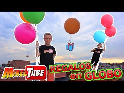RETO 🎈🎁 Enviamos Regalos en globos con una carta !