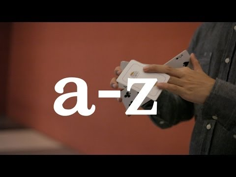 A-Z of Cardistry