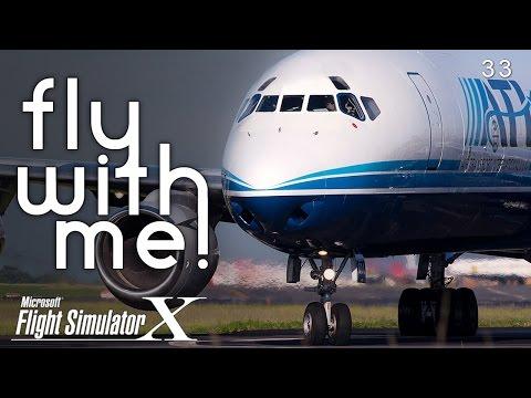 FSX - First Look! Just Flight DC-8