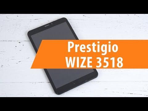 Распаковка Prestigio WIZE 3518  Unboxing Prestigio WIZE 3518