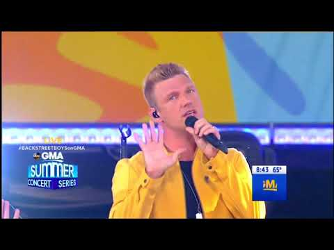 Don't Go Breaking My Heart - Backstreet Boys Live GMA