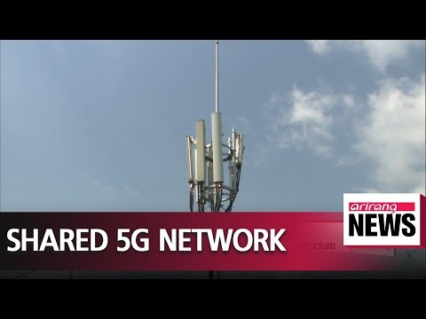 Korean telecom companies to build shared 5G network infrastructure