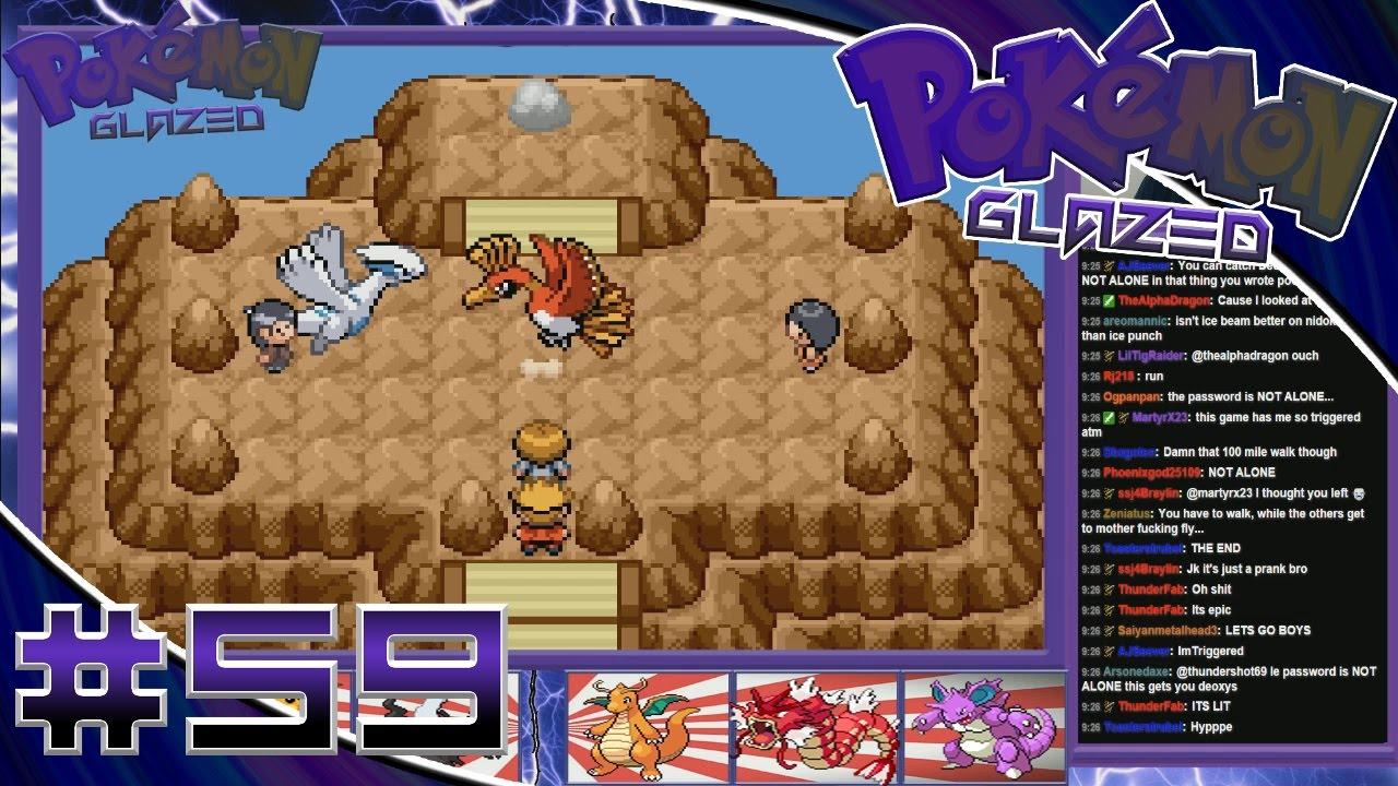 Pokemon Glazed Walkthrough Part 59- Showdown On The PEAKS OF ALPHA ...