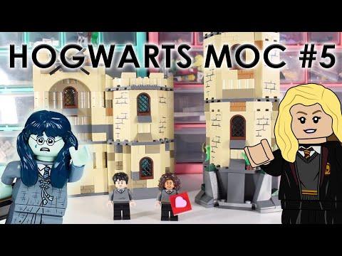 Hogwarts MOC Update #5 | Kitchens, and Myrtle's Bathroom Finished