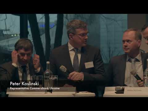 Podiumsdiskussion | Finanzierungsmöglichkeiten in der Ukraine - Quo vadis