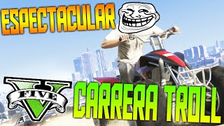 ESPECTACULAR CARRERA TROLL CON CAMILO RISAS Y C4 !! XD - GTA V ONLINE Funny moments - Makiman