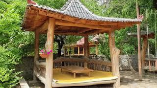 #중국연길 해란강 방갈로에서 맛있는 점심을 & 해란강은…