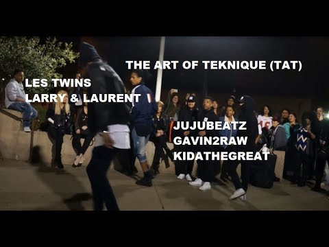 The Art Of Teknique & Les Twins In SF