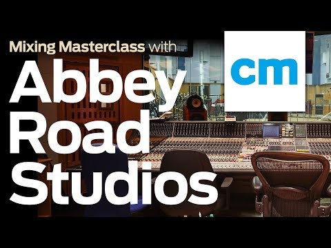 Mixing Masterclass with Abbey Road Studios | Studio Tour & Drum Mixing